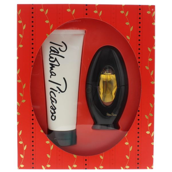 Paloma Picasso Eau De Parfum 50ml & Perfumed Body Lotion 200ml Set 3605971069215