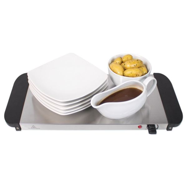 300w Large Electric Buffet Server 3 Warming Trays Hot