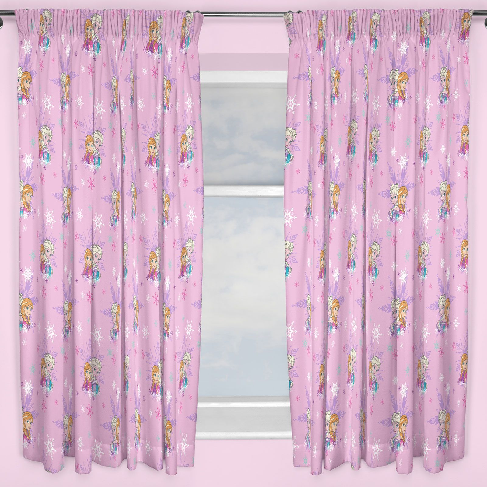 KIDS DISNEY AND CHARACTER CURTAINS 54 72 INCH DROP CHILDRENS