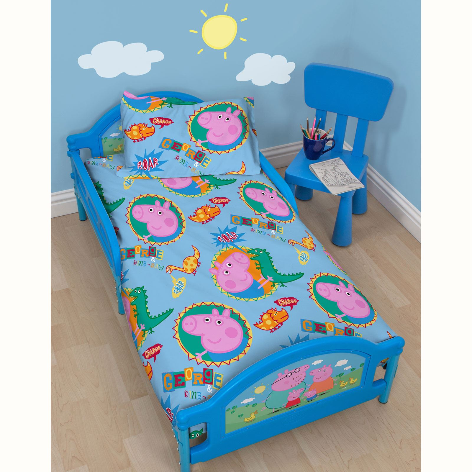 Peppa Pig George Toddler Bed Yamsixteen