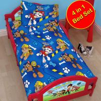 PAW PATROL OFFICIAL DUVET COVER SETS VARIOUS DESIGNS KIDS
