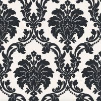 ARTHOUSE ROMEO DAMASK WALLPAPER FEATURE WALL DECOR BEDROOM ...