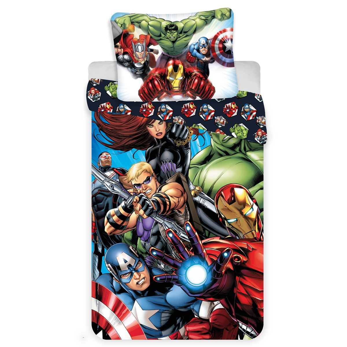 Marvel Bettwäsche Plaid In Pile Marvel Capitan America Decke Baby