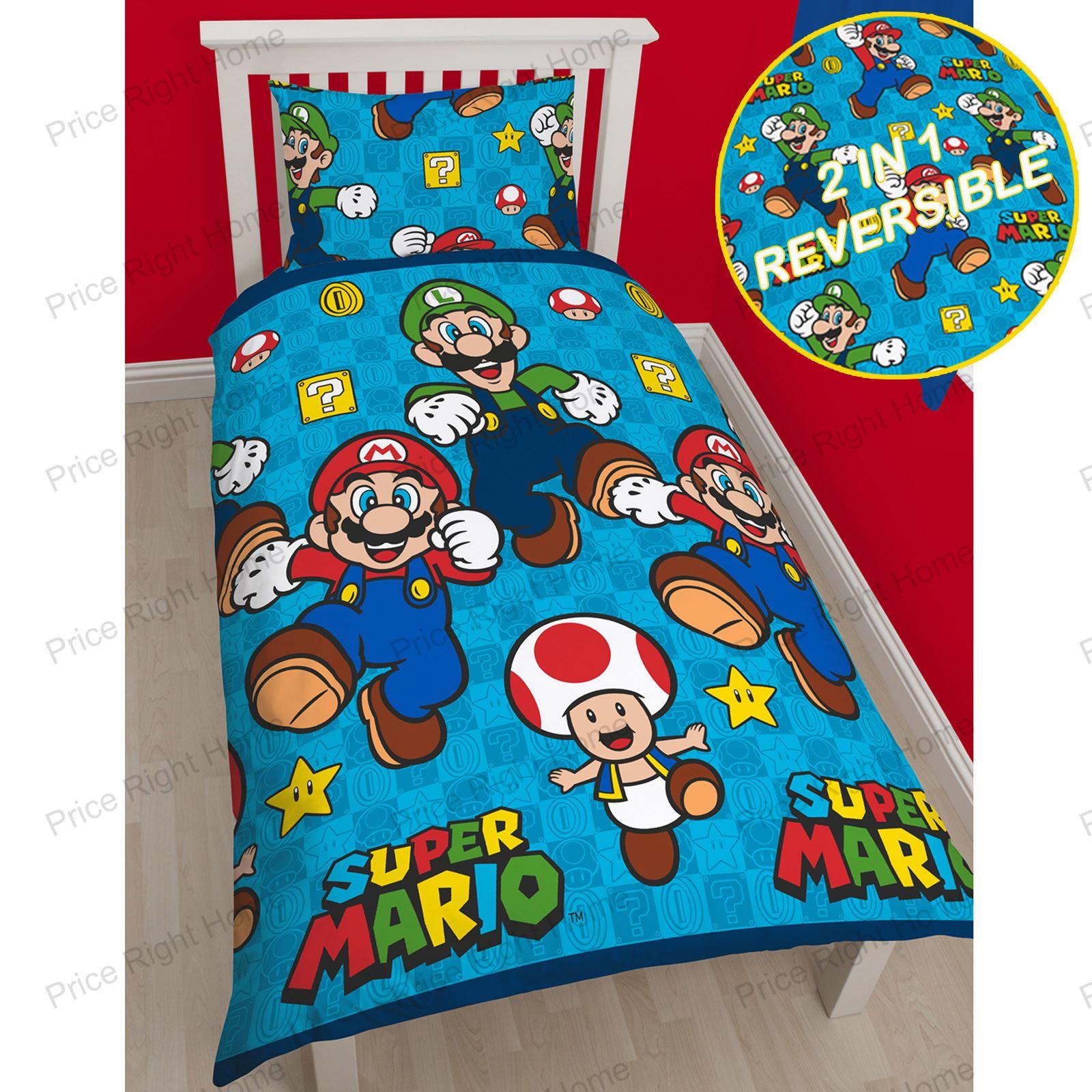 Mario Bettwäsche Bettwäsche Super Mario