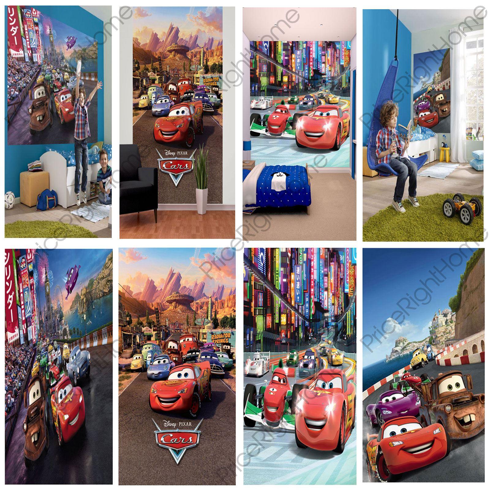 Disney Cars Mural Wallpaper Ebay Disney Cars Wall Murals 6 Designs Available Kids Bedroom