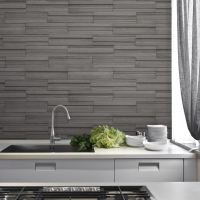 FINE DECOR SLATE TILE WALLPAPER GREY & CHARCOAL AVAILABLE ...