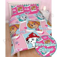 PAW PATROL OFFICIAL DUVET COVER SETS VARIOUS DESIGNS KIDS ...