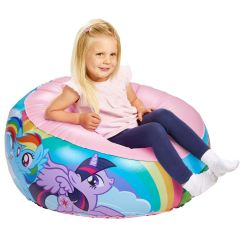 Chair For Toddler Girl Picnic Folding Chairs My Little Pony Inflatable Comfortable Seat