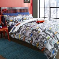 STUDENT TEENAGER SINGLE & DOUBLE DUVET COVER SETS BOYS
