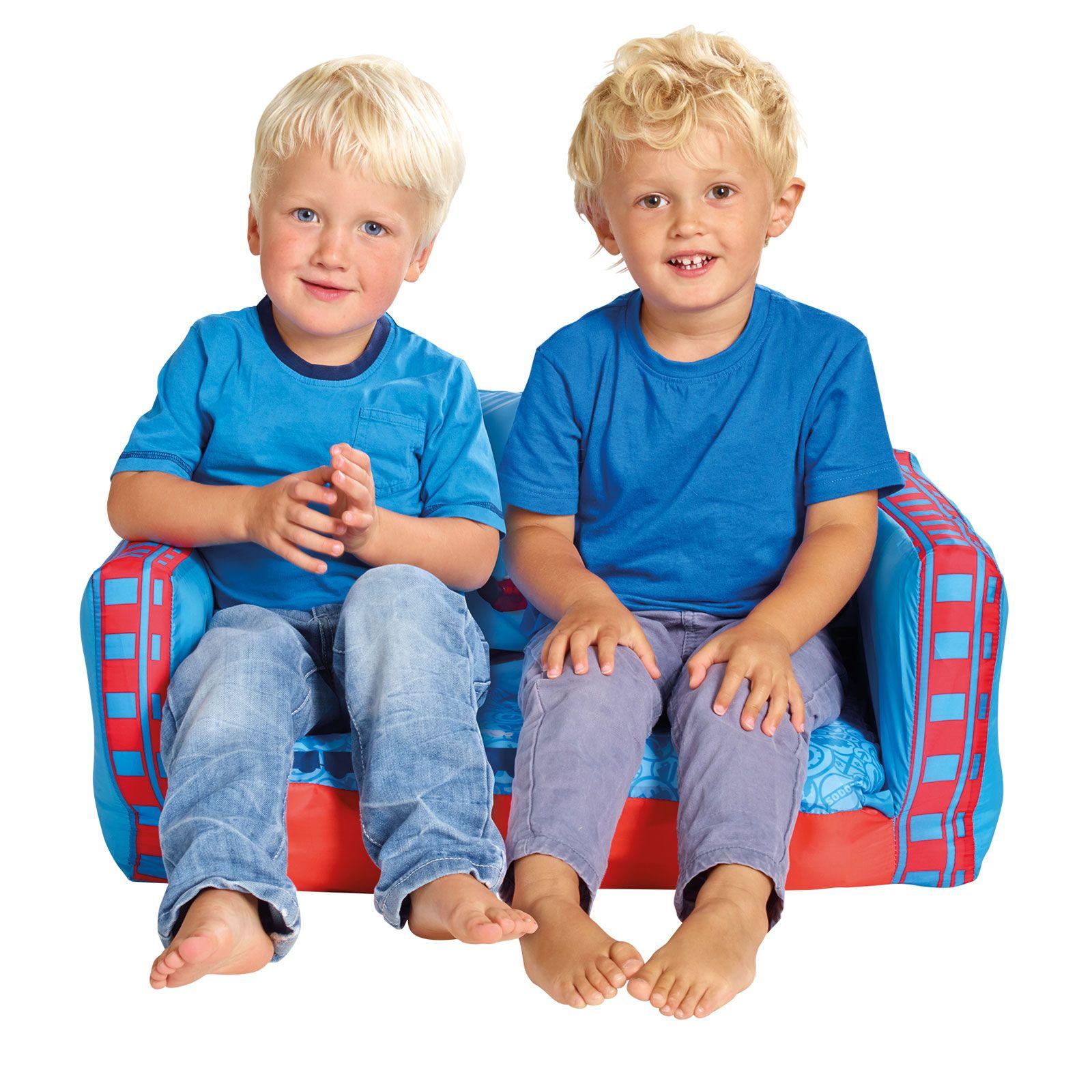 disney cars flip out sofa australia la z boy reclining range inflatable kids room new minions