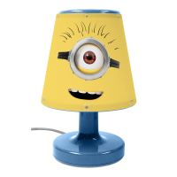 DISNEY & CHARACTER KIDS BEDROOM BEDSIDE LAMPS FOR BOYS AND