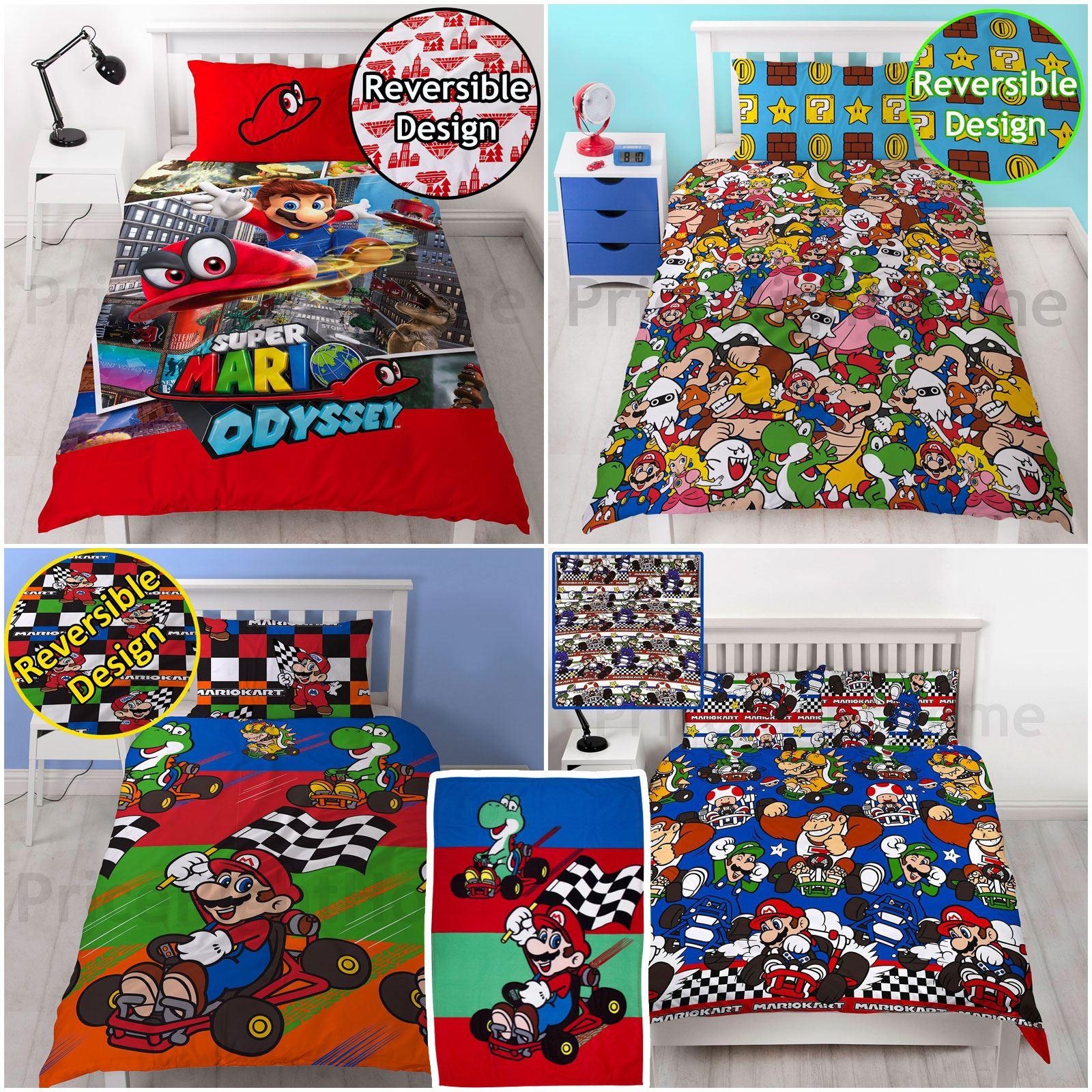 Bettwäsche Super Mario Details Zu Nintendo Mario Kart Racer