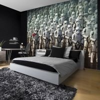STAR WARS WALL MURALS CHARACTERS VARIOUS DESIGNS STYLES ...