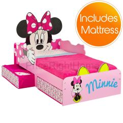 Minnie Mouse Upholstered Chair Canada Purple Lounge Bedroom Mdf Junior Toddler Bed With Storage