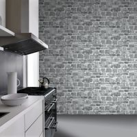 GREY STONE WALL WALLPAPER - RASCH 265620 - NEW FEATURE ...