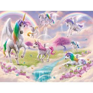 unicorn magical wall mural decor walltastic