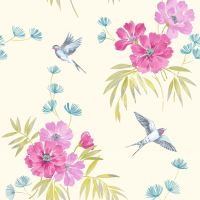 FLORAL WALLPAPER - VARIOUS DESIGNS AND COLOURS - FLOWERS ...