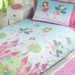Fairy Princess Sleeping Double Duvet Cover Set New Girls Bedding Ebay