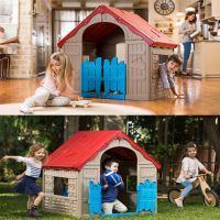 KETER Garden Outdoor/Indoor Kids Folding Playhouse ...