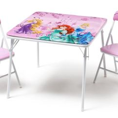 Bedroom Chair On Ebay Swivel Explosion Disney Princess Childrens Metal Table And Two Chairs Set