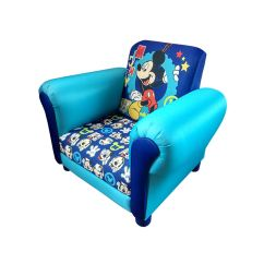 Childrens Upholstered Chair Indoor Swing With Stand Uk Mickey Mouse Cartoon Kids Armchair Childs