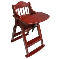 Safetots Folding Multi-Height Wooden High Chair ...