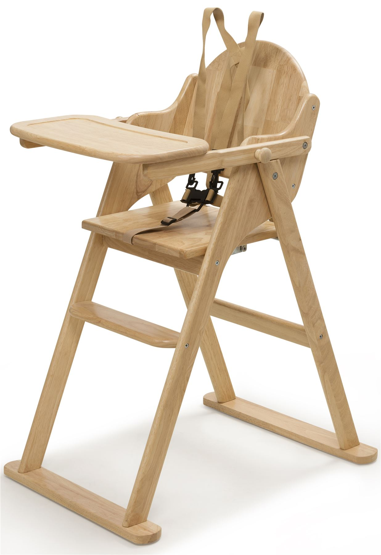 Wooden High Chairs For Babies Details About Safetots Putaway Folding Wooden Highchair Easy Store Baby Wood High Chair