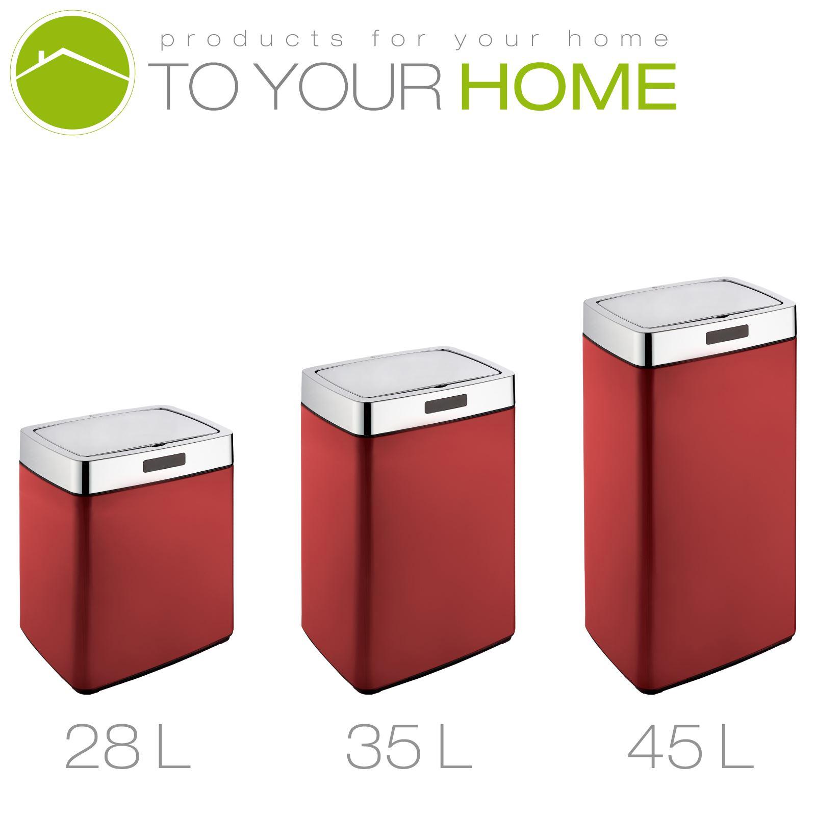 red kitchen trash can traditional furniture dihl rectangle mono origin white black cream