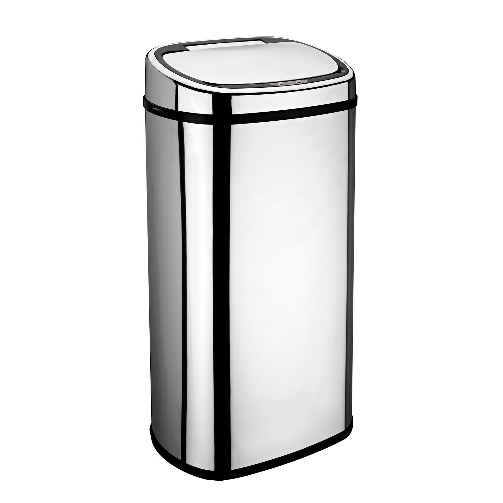 White 50l Kitchen Bin