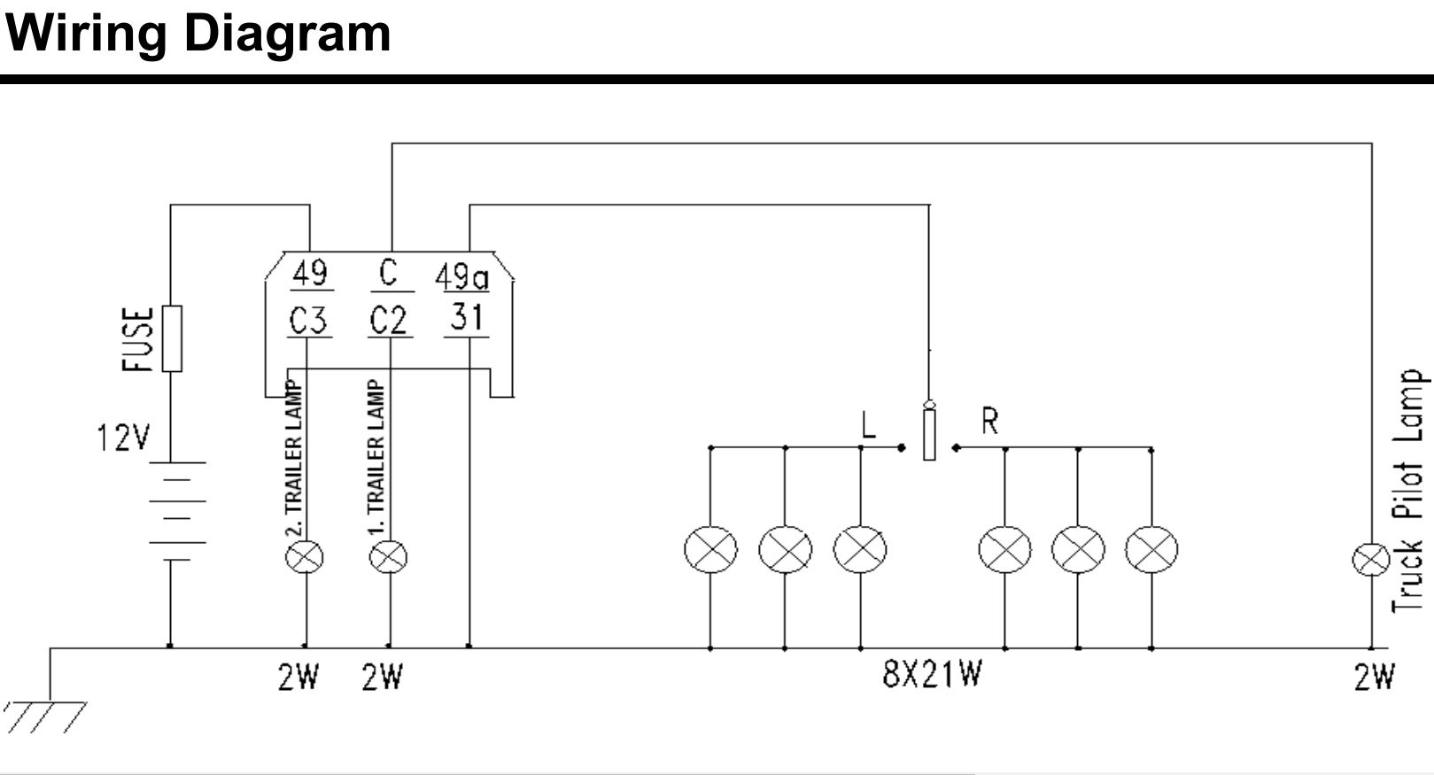 4 pin indicator relay wiring diagram software to draw uml diagrams tractor 12v 6 flasher unit massey