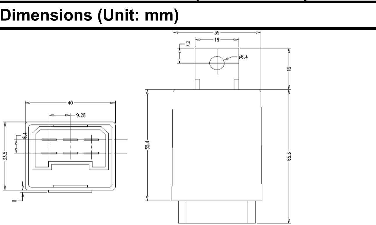 4 pin indicator relay wiring diagram australian 610 phone socket tractor 12v 6 flasher unit massey