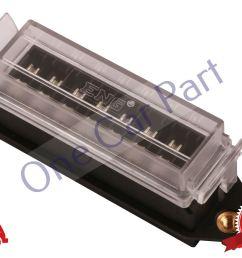 8 way bottom entry fuse box holder 12v volt blade kit car van heavy duty [ 1800 x 1200 Pixel ]