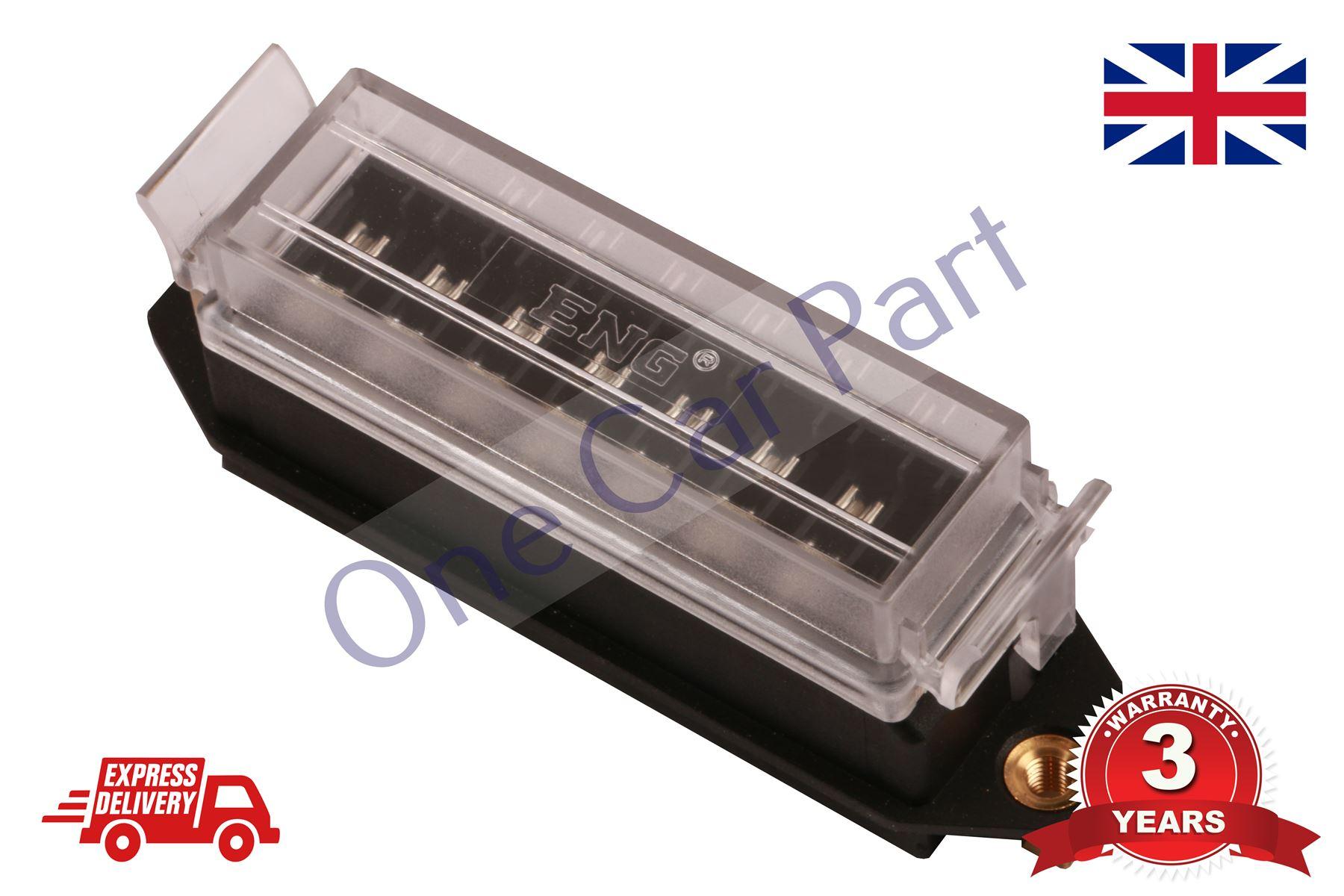 hight resolution of 8 way bottom entry fuse box holder 12v volt blade kit car van heavy duty