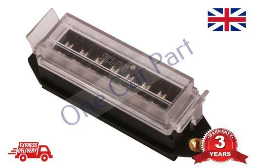 small resolution of 8 way bottom entry fuse box holder 12v volt blade kit car van heavy duty