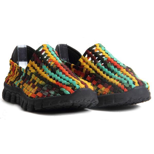 Womens Comfort Walking Shoes Memory Foam Slippers Woven