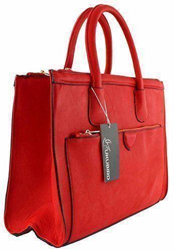 Womens Ladies Designer Classic Work Bag Business Shoulder Tote Large Handbag   eBay