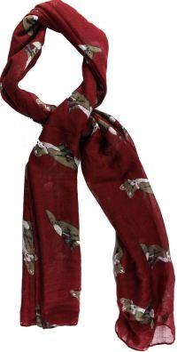 Womens/Ladies Fox Print Animal Long Shawls Scarves Wraps ...