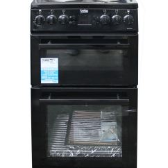Beko Electric Cooker Wiring Diagram Bottlenose Dolphin 50cm Double Oven Solid Plate 4 Zone