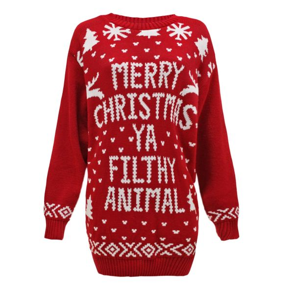 Ladies Womens Mens Knit Christmas Jumper Santa Reindeer