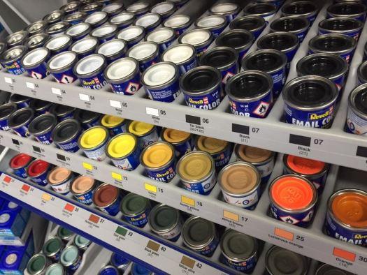 Image Is Loading Revell Enamel Model Hobby Paint 01 To 61