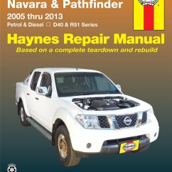 Nissan Navara D40 Ignition Wiring Diagram Pioneer Car Radio Stereo Audio Haynes Workshop Service Repair Manual