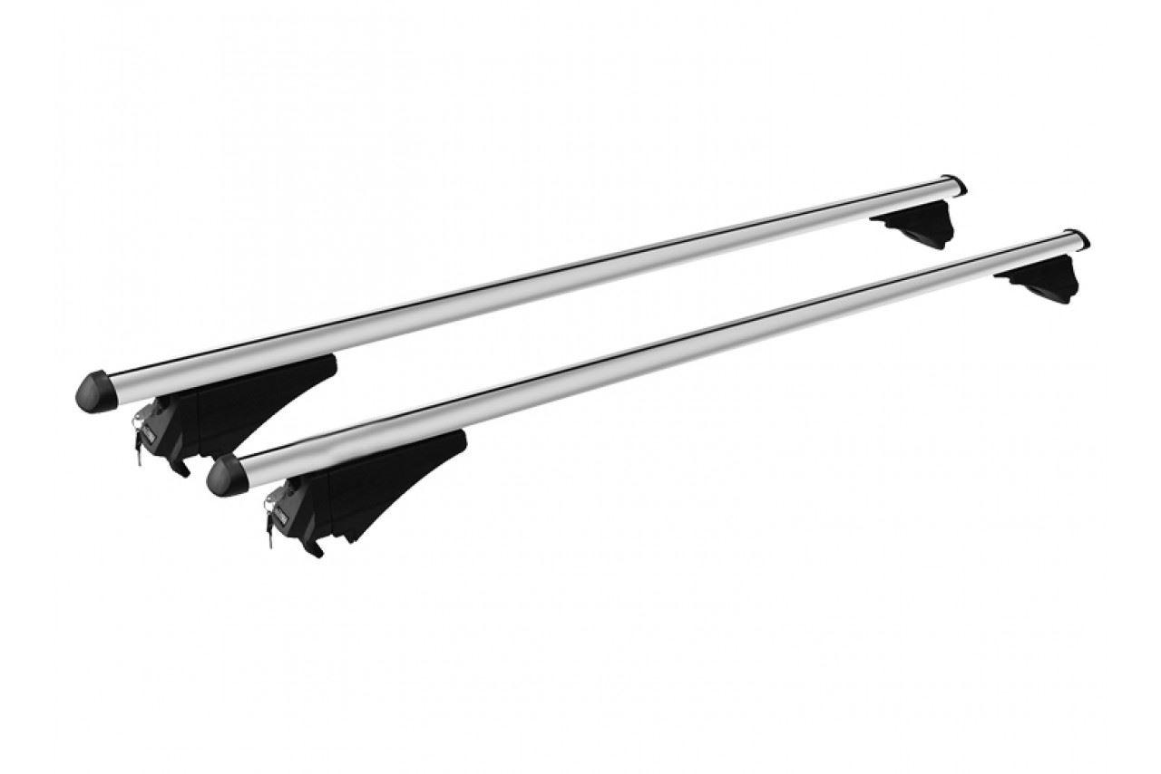 Roof Rack Cross Bars Aluminum Locking Fits Nissan Qashqai 19