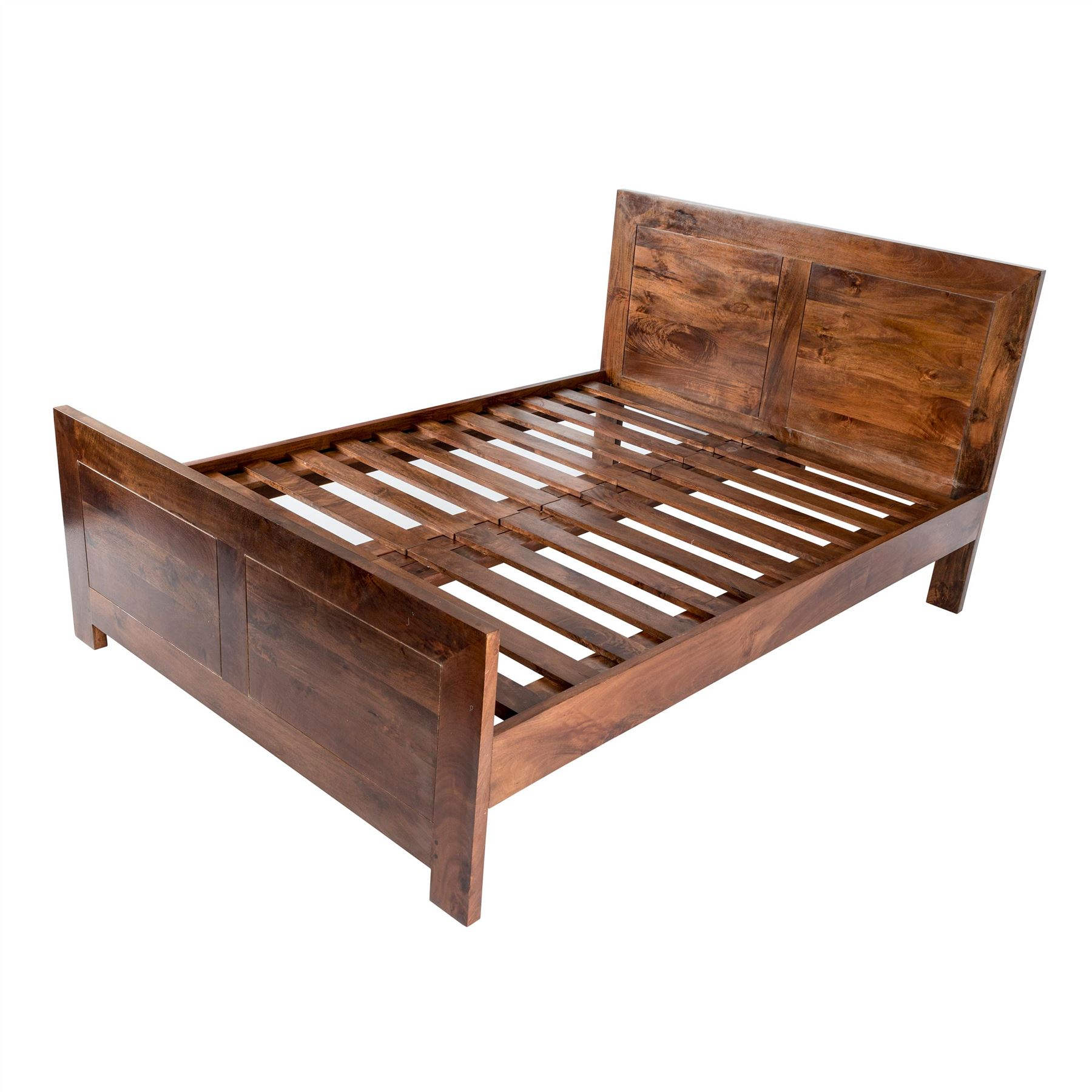 Dakota Dark Oak Bed Frame Single Double King Super