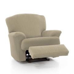 2 Seater Recliner Sofa Covers Right Hand Facing Sectional 1 Armchair Slipcover Stretch Elastic