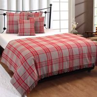 Cotton Extra Large Tartan Throws for Sofas Bed Throw ...