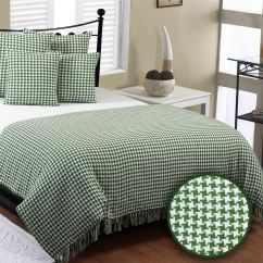 Xl Sofa Throws Base Support Houndstooth Cotton Check Extra Large Bed