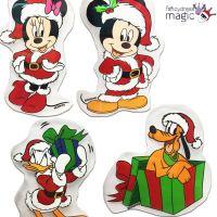 Disney Mickey Minnie Mouse Christmas Xmas Window Gel ...