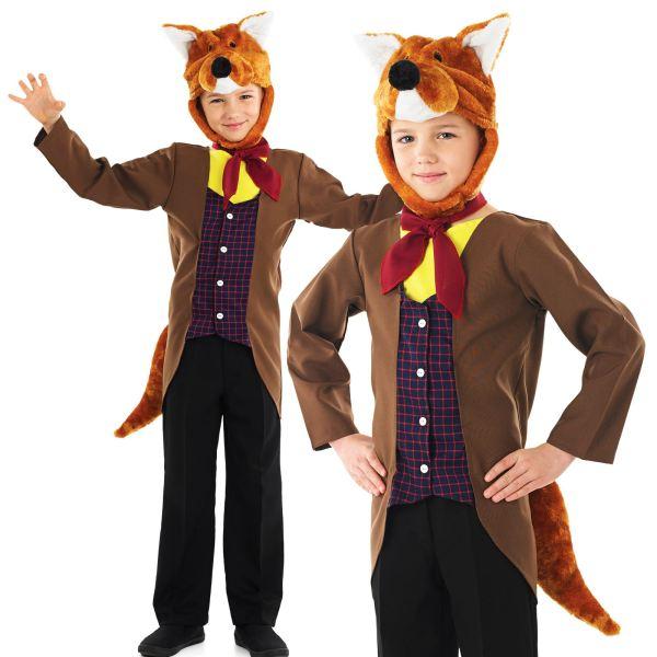 Boys Fantastic Fox Animal Book Day Week Kids Childrens