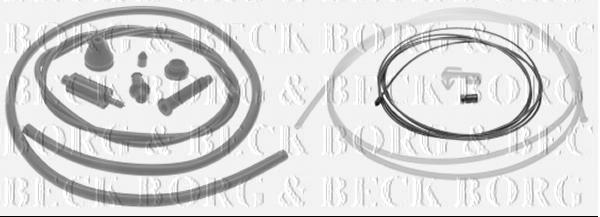 BORG & BECK THROTTLE CABLE FOR A RENAULT LAGUNA Hatchback