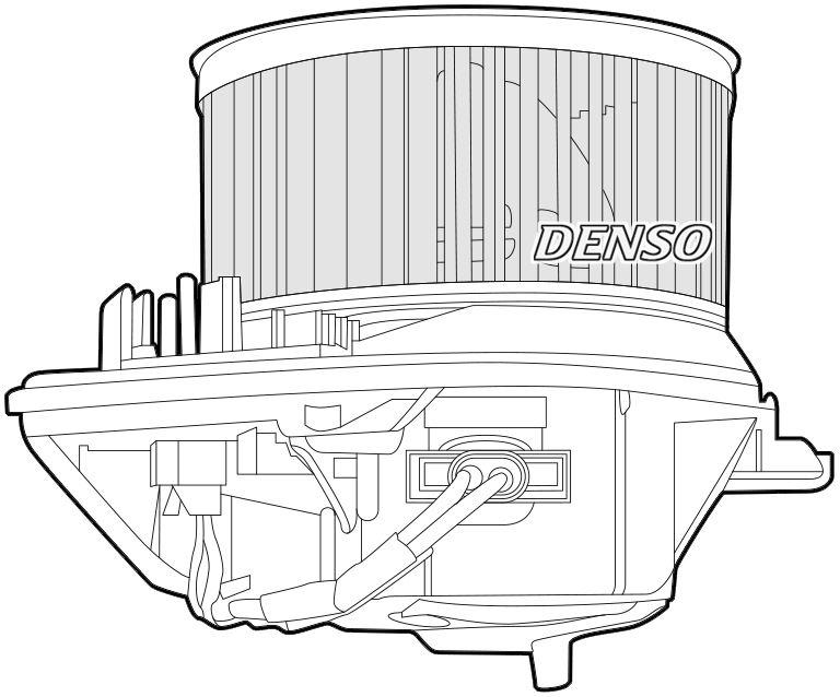 Denso Cabina Ventilador / Motor Para Un Citroen Zx